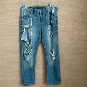 Lucky Brand Super Distressed Jeans
